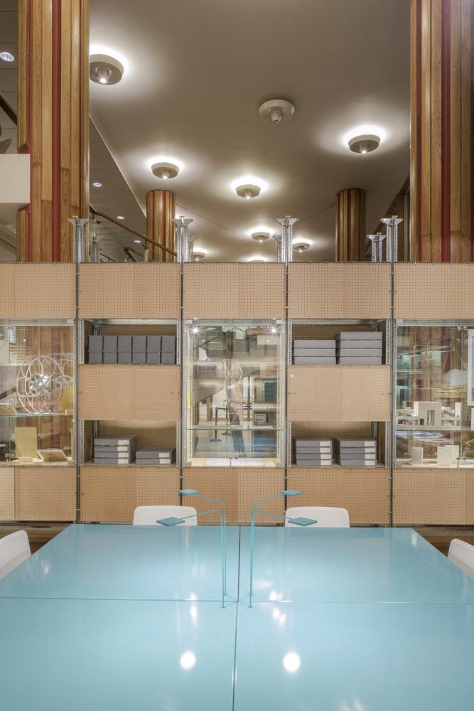 Идея интерьера архивного помещения от Jonathan Tuckey фото 4