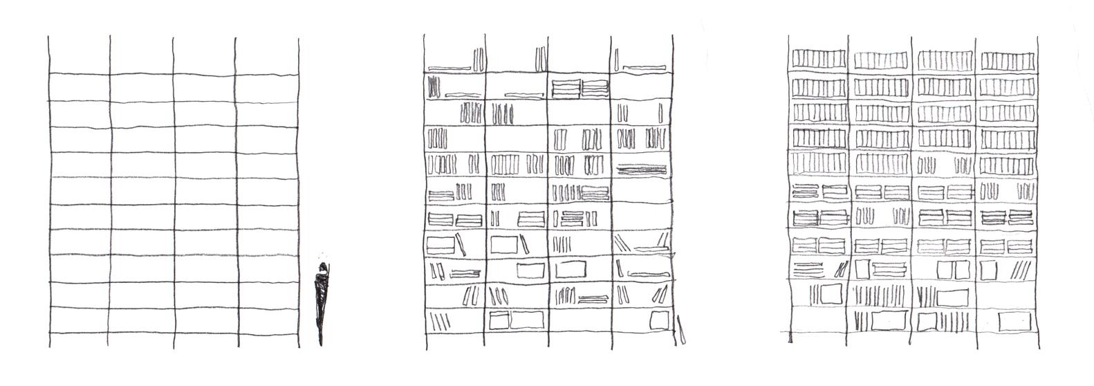 Идея интерьера архивного помещения от Jonathan Tuckey фото 15
