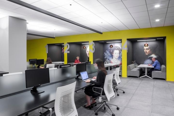 Оформление офиса медийной компании Initiative Media в Нью-Йорке