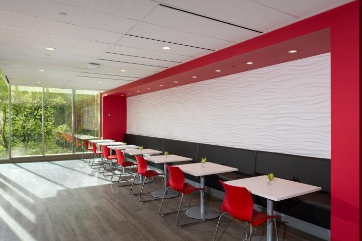 Дизайн офиса страховой компании Intact Insurance Company в Ванкувере, Канада