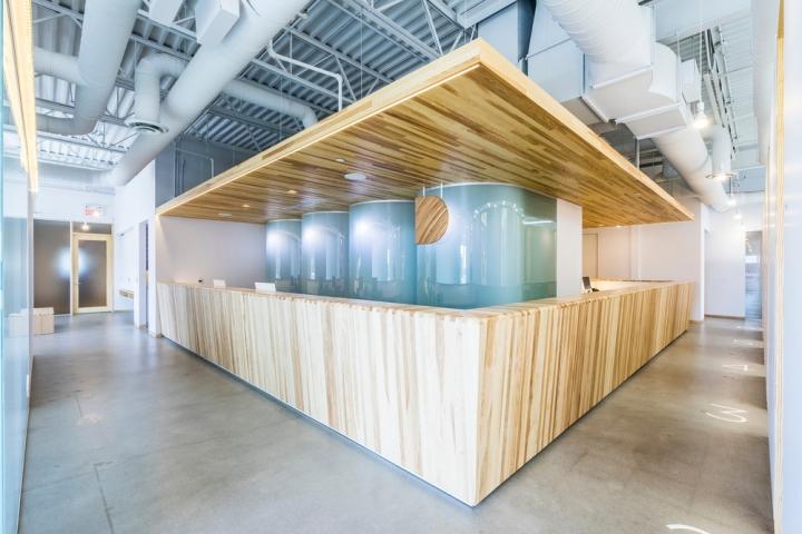 Внутреннее пространство частной клиники Даниэлы Брассар