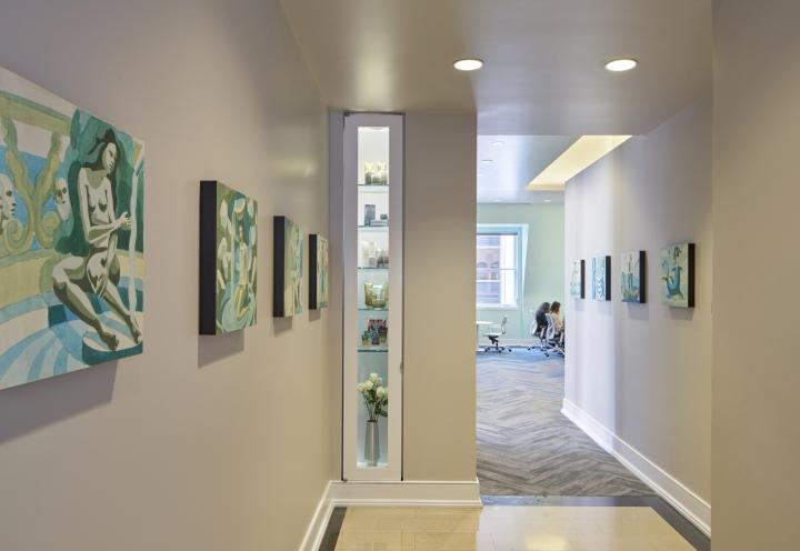 Элегантная отделка офиса: дизайн в нейтральных тонах - фото 1