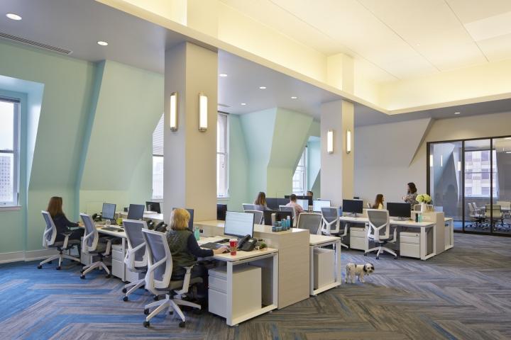 Элегантная отделка офиса: дизайн в нейтральных тонах - фото 2