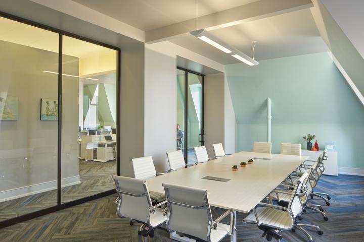Элегантная отделка офиса: дизайн внейтральных тонах - фото 3