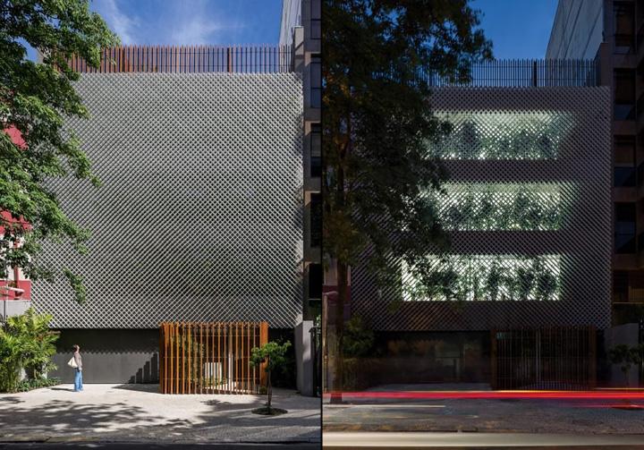 Интересный экстерьер офиса Aníbal Building