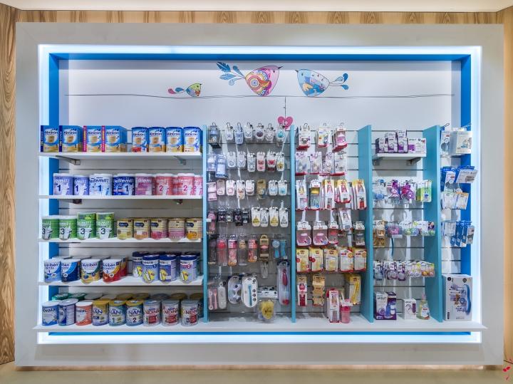 Интерьер аптеки: работы известного испанского иллюстратора