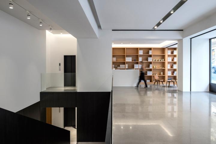 Интерьер галереи: современное пространство