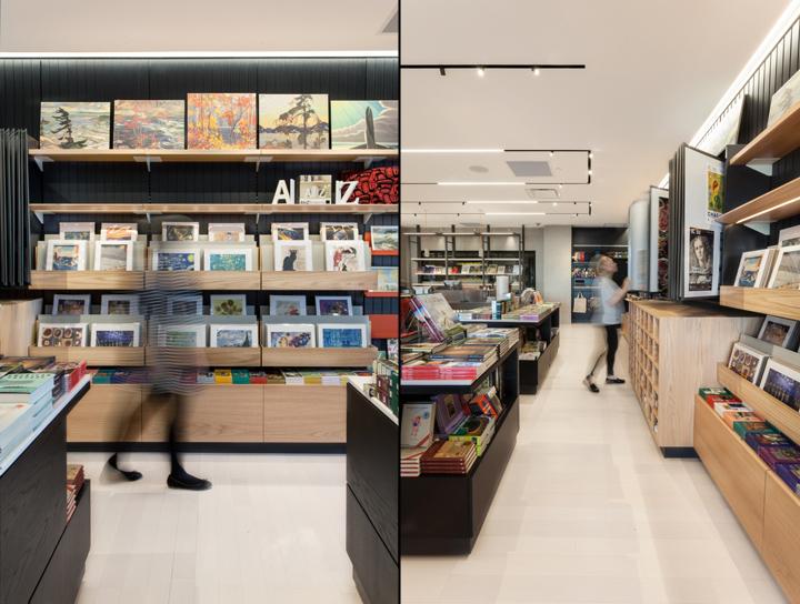Интерьер галереи: отличный выбор книг