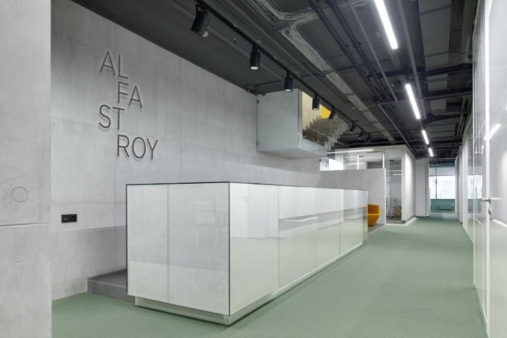 Интерьер кабинетов в офисе от студии VOX Architects
