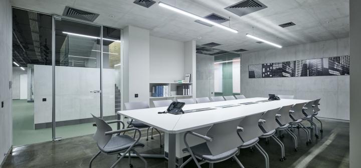 Конференц-зал компании «Альфа-Строй»