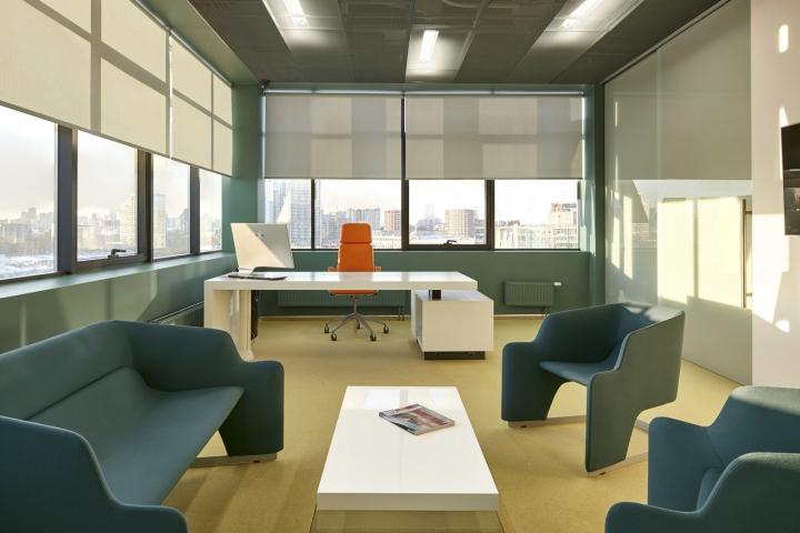Комната для отдыха в офисе компании «Альфа-Строй»