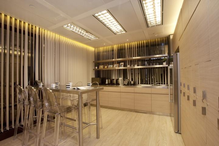 Расслабляющий интерьер медицинского центра: зона отдыха стилизована под домашнюю кухню