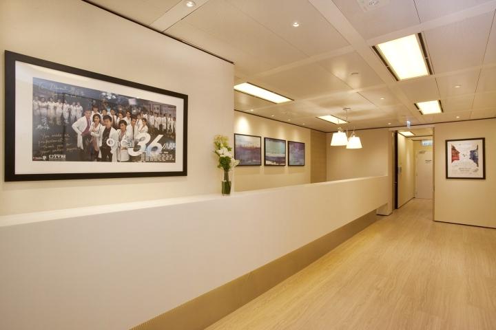 Инновационный интерьер медицинского центра в Гонконге - фото 1