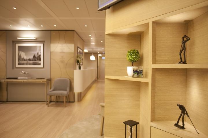 Инновационный интерьер медицинского центра в Гонконге - фото 10