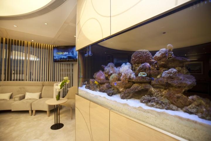 Инновационный интерьер медицинского центра в Гонконге - фото 12