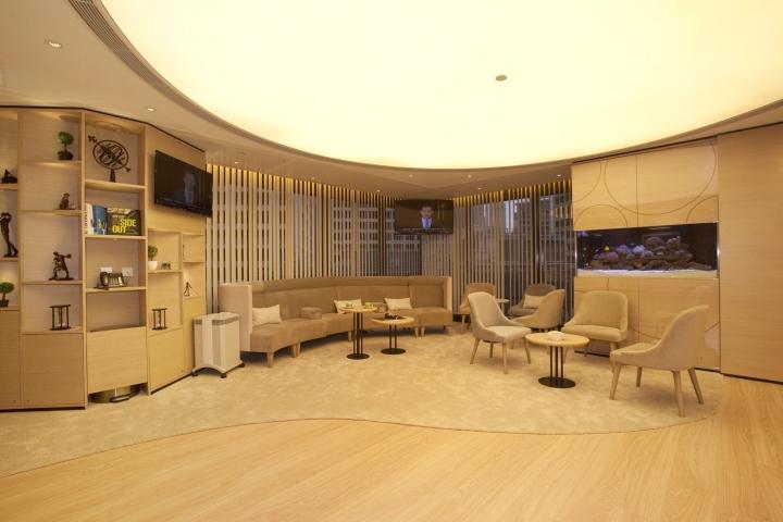 Инновационный интерьер медицинского центра в Гонконге - фото 16