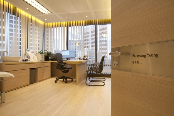 Инновационный интерьер медицинского центра в Гонконге - фото 17
