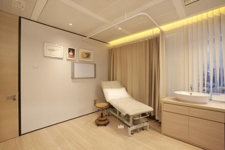 Инновационный интерьер медицинского центра в Гонконге - фото 18