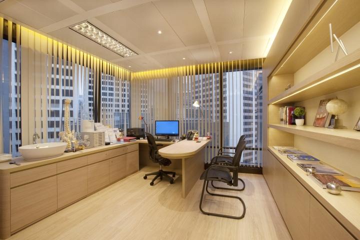 Инновационный интерьер медицинского центра в Гонконге - фото 22