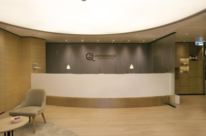Инновационный интерьер медицинского центра в Гонконге - фото 23