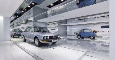Интерьер музея BMW в столице Китая
