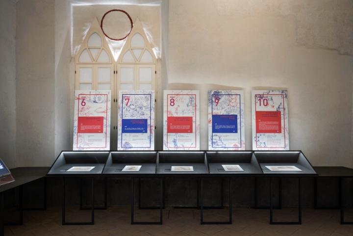 Интерьер музея: работы Леонардо да Винчи - фото 1