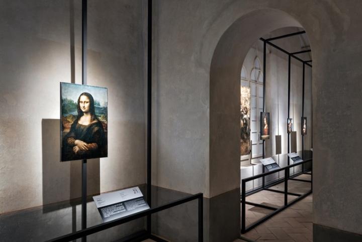 Интерьер музея: работы Леонардо да Винчи - фото 4