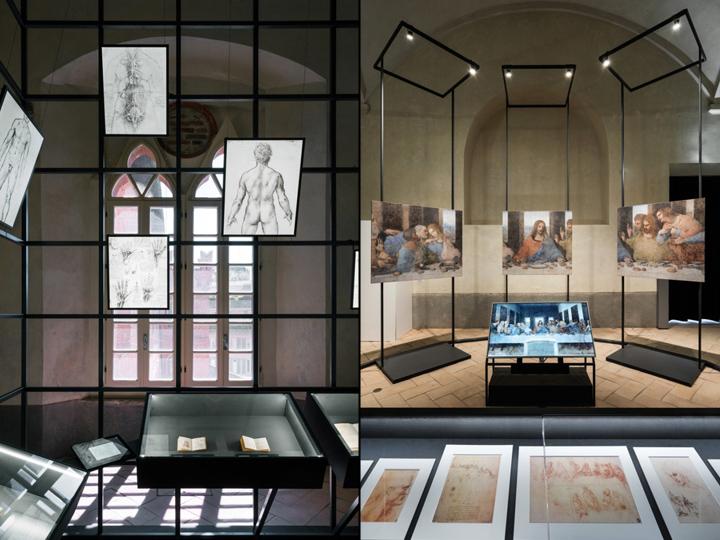 Интерьер музея: работы Леонардо да Винчи - фото 5