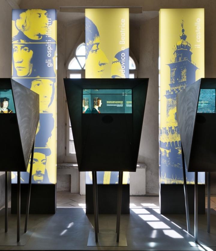 Интерьер музея: работы Леонардо да Винчи - фото 6
