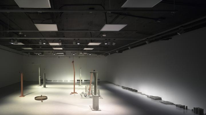 Интерьер музея расположен на двух уровнях