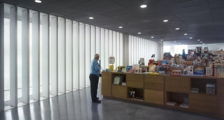 Интерьер музея: общественная зона