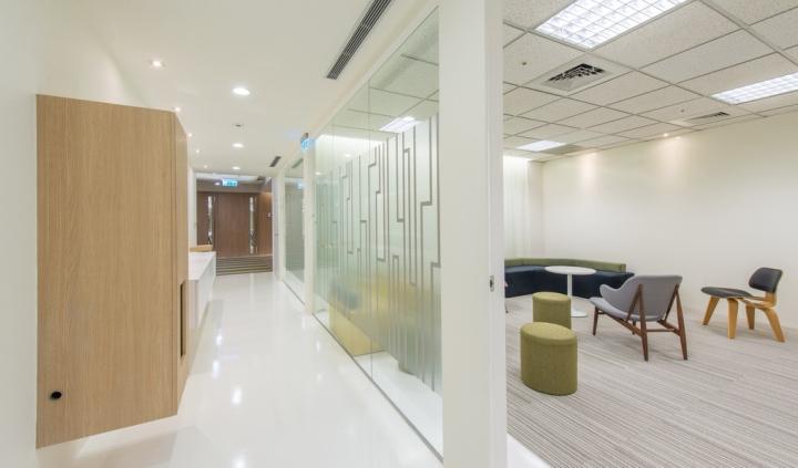 Интерьер небольшого офиса: прозрачные перегородки
