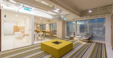 Интерьер небольшого офиса в Тайване