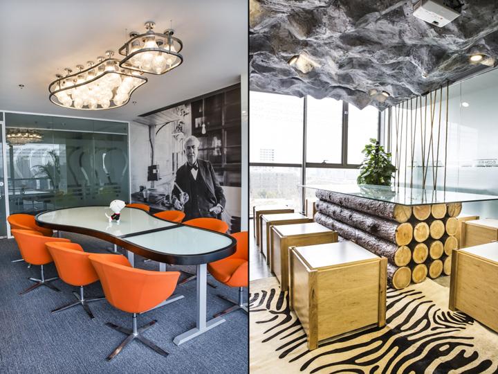 Динамичный яркий интерьер небольшого офиса - фото 7