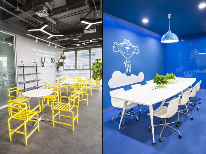 Динамичный яркий интерьер небольшого офиса - фото 8