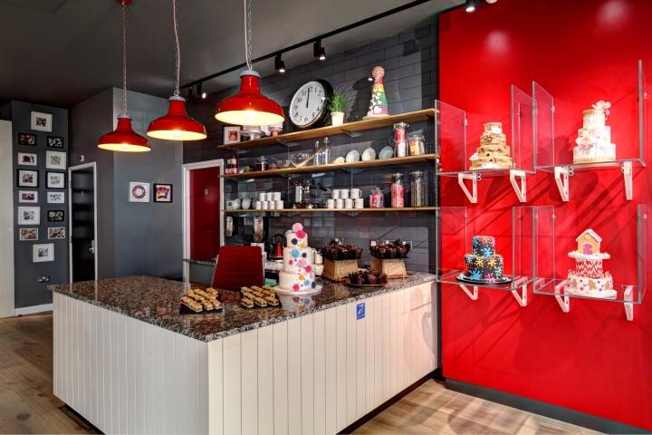 Интерьер офиса – фото из Ливерпуля, Великобритания: обеденная зона