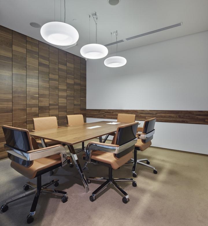 Минималистичный интерьер офиса в Москве