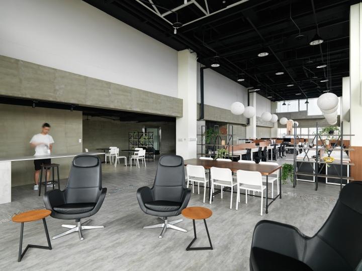 Интерьер офиса в стиле минимализм компании Citiesocial - комфортное и современное помещение