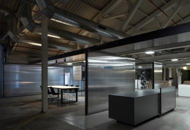 Необычный интерьер офисного помещения в Испании