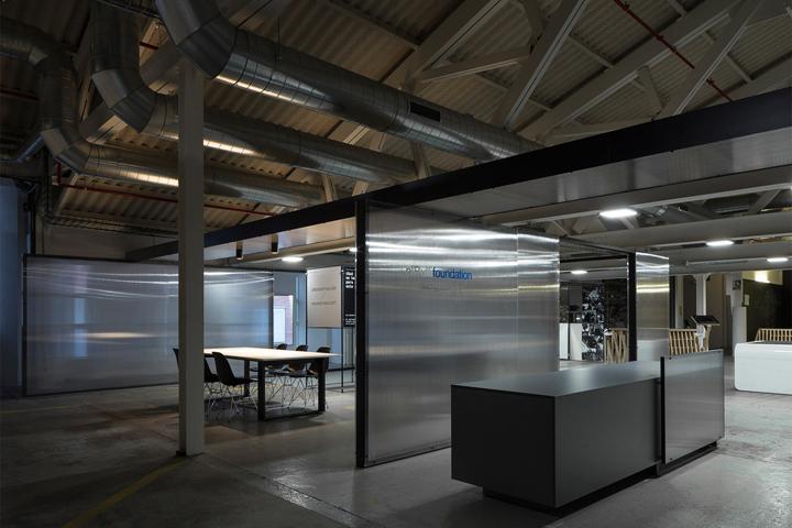 Интересный интерьер офисного помещения: лаборатория El Bulli