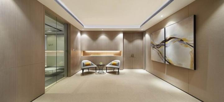 Интерьер офисных помещений в стиле минимализм