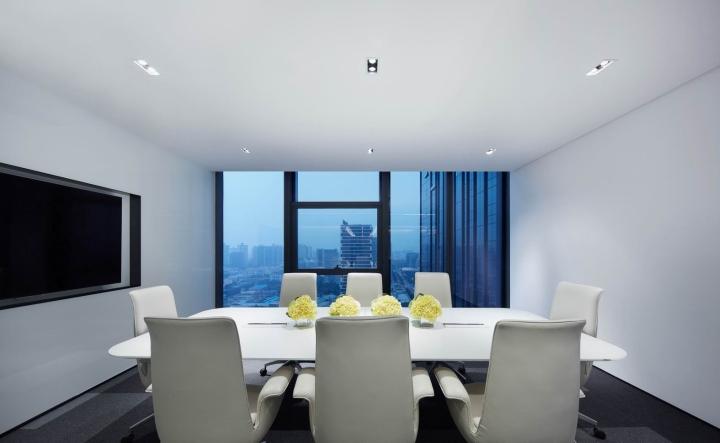 Интерьер комнаты для совещаний