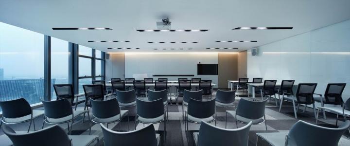 Конферец-зал в сером цвете
