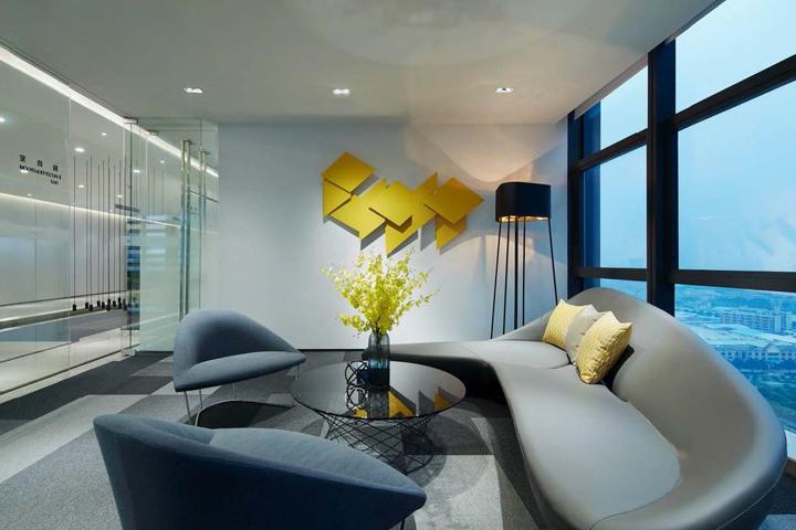 Интерьер офисных помещений компании Midea Real Estate Group