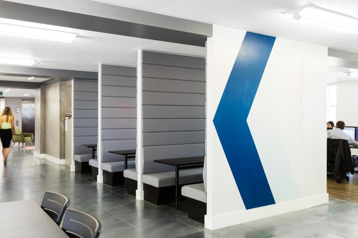 Интерьер офисных помещений: разделение на зоны