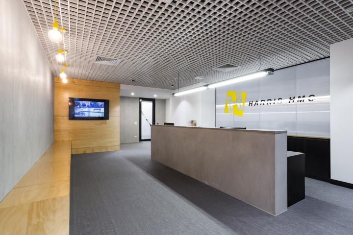 Интерьер офисных помещений от Hot Black Interiors, Австралия