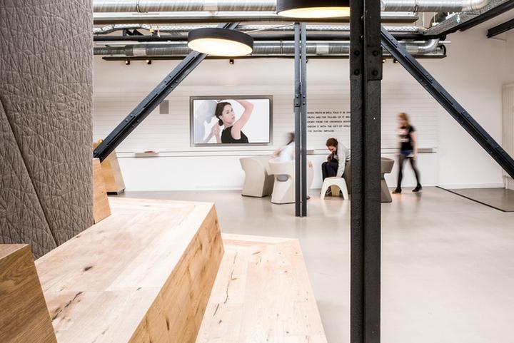 Интерьер рабочего офиса McCann Worldgroup в Берлине: преображение рекламного агенства