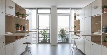 Современный интерьер рабочего офиса: необычная организация пространства