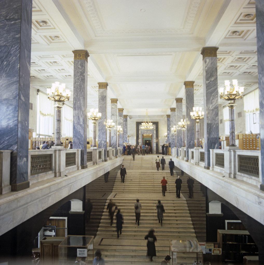 Интерьер Российской государственной библиотеки