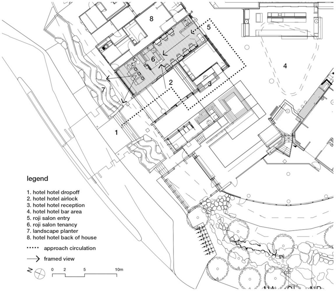 План схема салона красоты.
